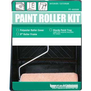Gam PT03329 3 Piece Paint Roller Kit