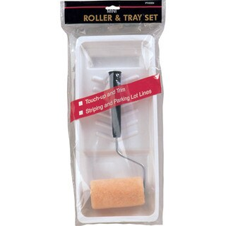 "Gam PT03323 2 Piece 3"" Roller & Tray Set"