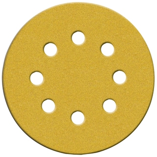 "Norton 02209 5"" Medium Grit P80 Hook & Loop Sanding Disc 4-count"