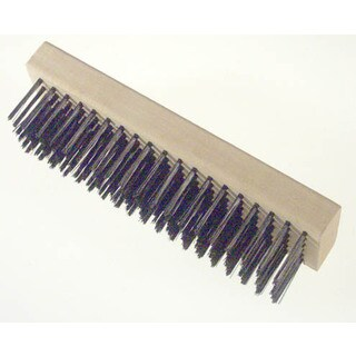 Gam BW00619 Straight Back Wire Scratch Brush