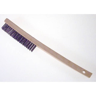 Gam BW00319 Bent Handle Wire Scratch Brush