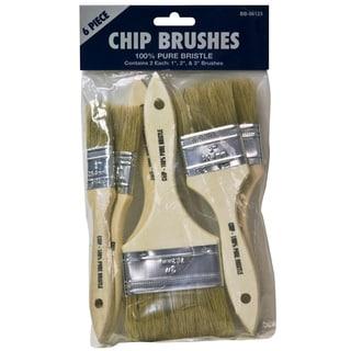 Gam BB06123 6 Piece Chip Brush Set