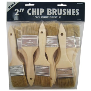 "Gam BB00224 24-count 2"" Chip Brushes"