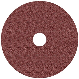 "Norton 01910/04707 5"" 36 Grit All Purpose Fiber Backed Grinding & Sanding Disc"