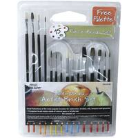 C2F PRO-8719C Brush Set 15-count