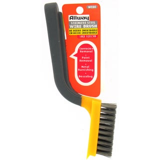 Allway Tools SB2 Soft Grip Wide Stainless Stripper Brush