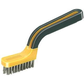 Allway Tools SB1 Soft Grip Stainless Steel Bristle Stripper Brush