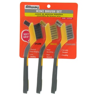Allway Tools AMB Soft Grip Mini Brush Set