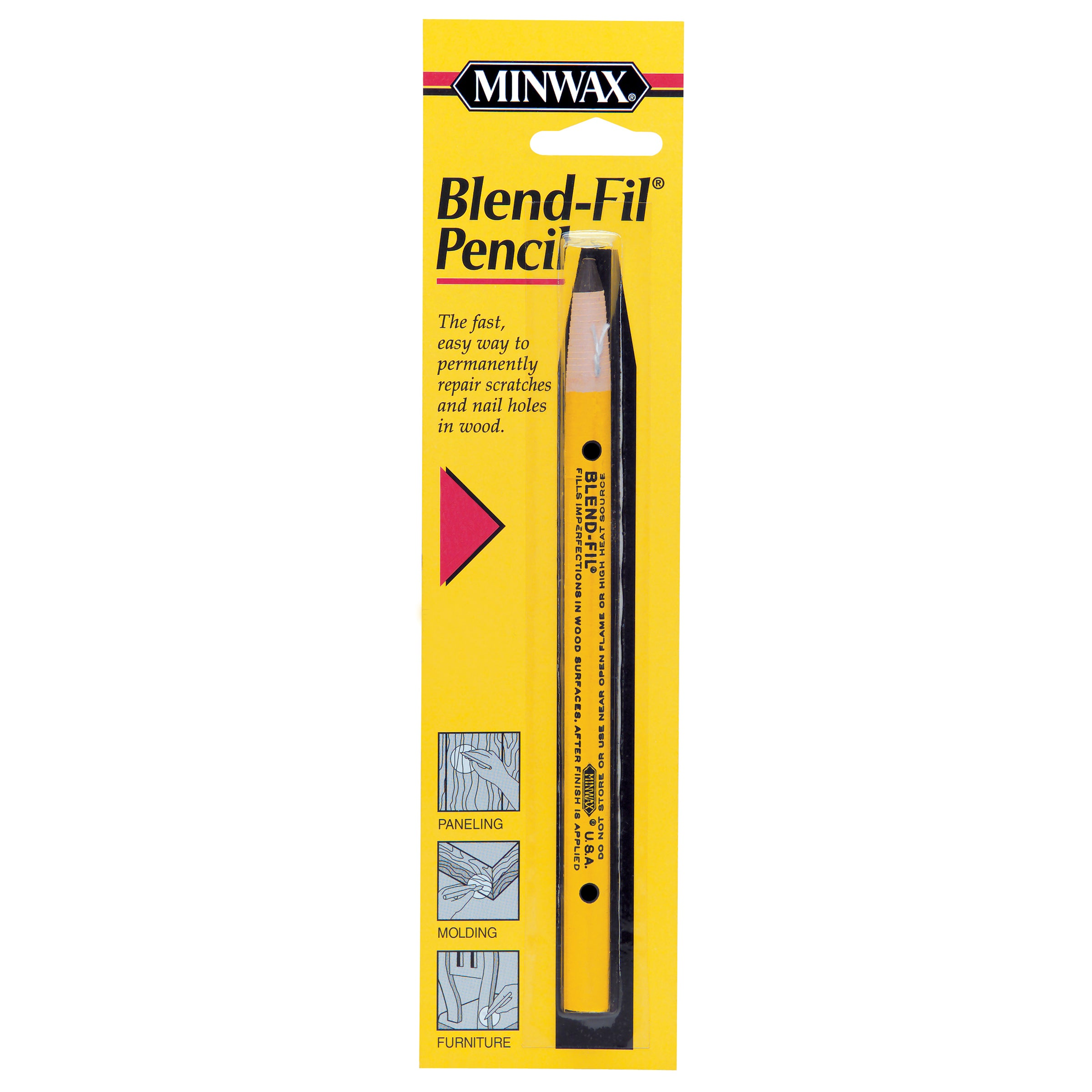 Minwax 11003 No 3 Natural Birch (Brown) Blend Fil Pencil ...