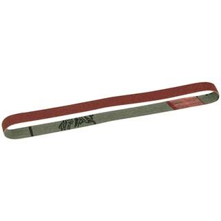 """Proxxon 28581 13"""" x 13/32"""" 180 Grit Replacement Sanding Belts 5-count"""