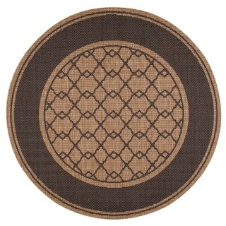 Nourison Patio Honey Area Rug (7'9 Round)