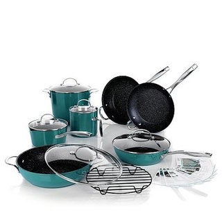 Curtis Stone DuraPan Nonstick 13-piece Chef's Cookware Set