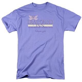 Gilmore Girls/Dragonfly Inn 2 Short Sleeve Adult T-Shirt 18/1 in Silver