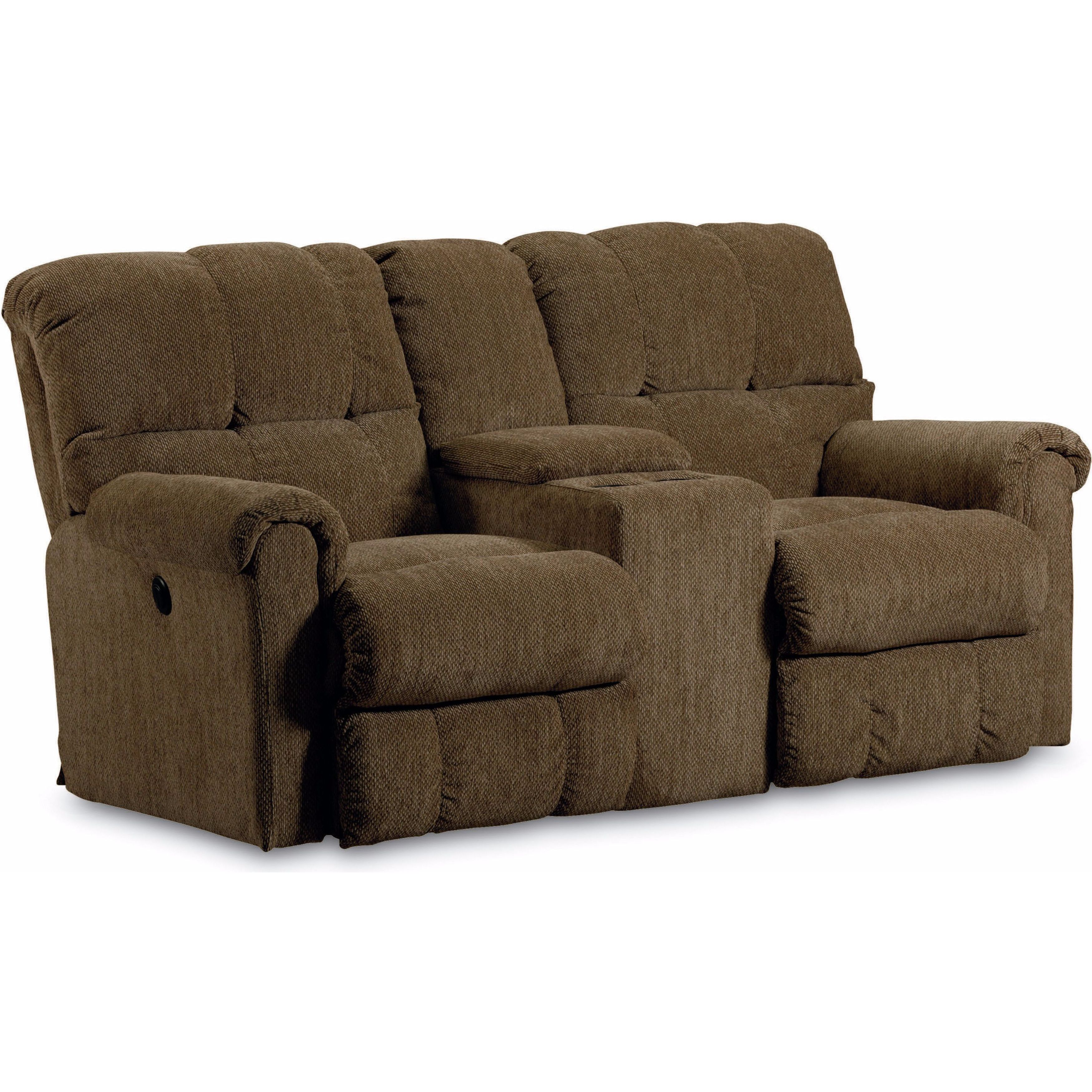 Lane FurnitureGriffin Double Reclining Console Loveseat w...