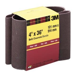 """3M 9293NA 4"""" X 36"""" Fine Grit Power Sanding Belts"""