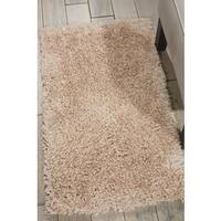 Nourison Malibu Beige Shag Area Rug (1'8 x 3')