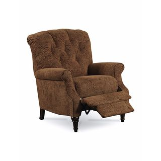Lane Furniture Belle Brown Paisley Reclining Armchair
