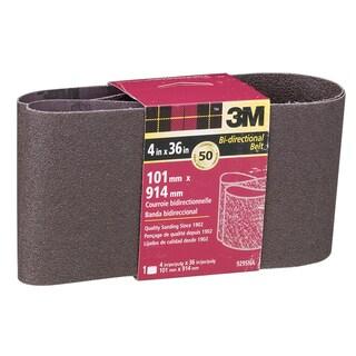 "3M 9295NA 4"" X 36"" Coarse Power Sanding Belts"