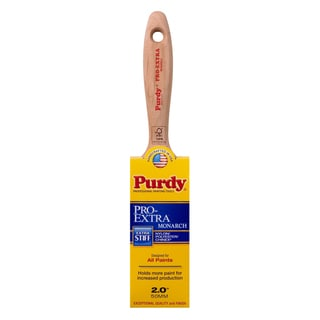 "Purdy 144234720 2"" Extra-Stiff Nylon Pro-Extra Monarch Paint Brush"