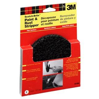 """3M 9410NA 5"""" Scotchbrite Paint & Rust Stripper - Black"""