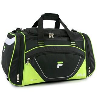 Fila Acer Large Sport Duffel Bag (Option: Lime)