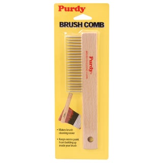 Purdy 068010 Brushcomb With Wood Handle