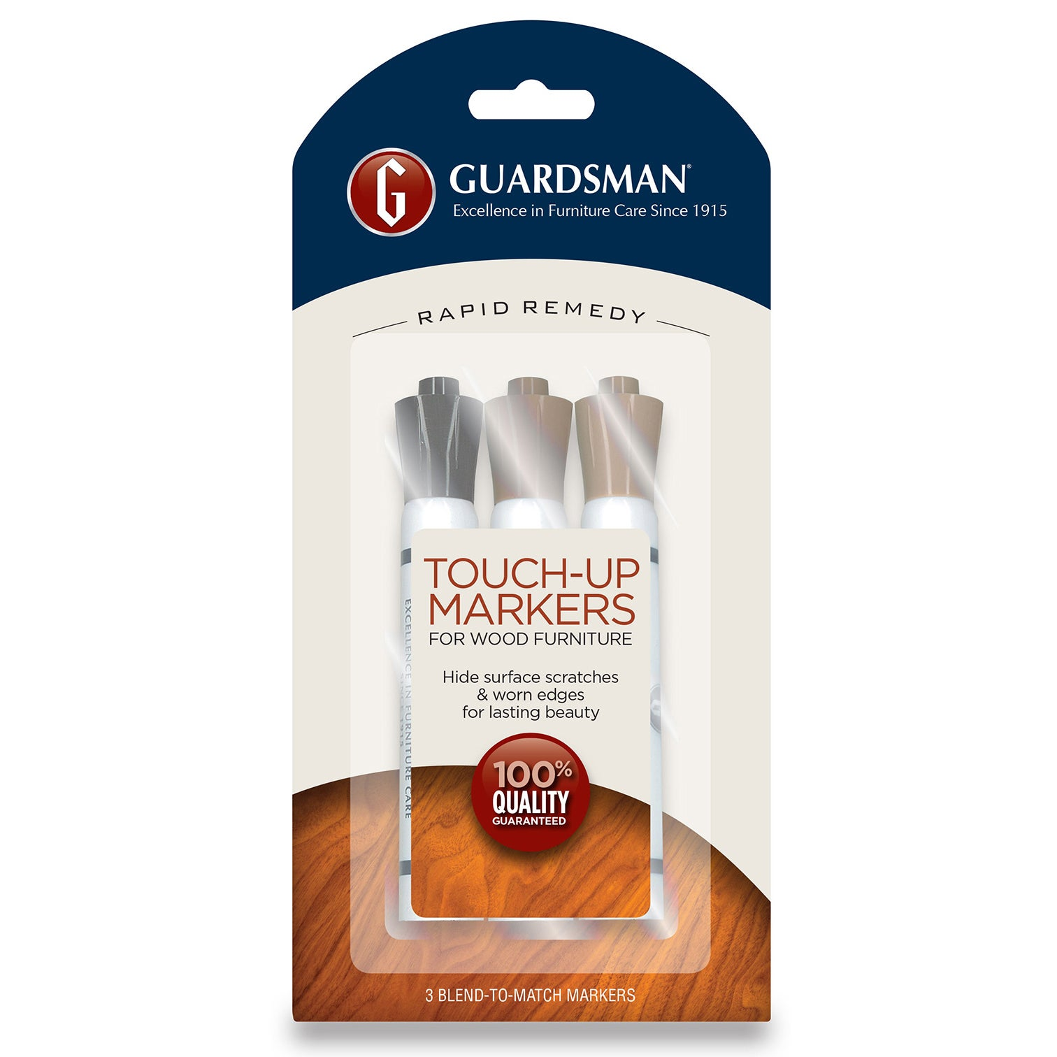 Guardsman 465200 3-count Furniture Touch Up Kit (Wood Rep...
