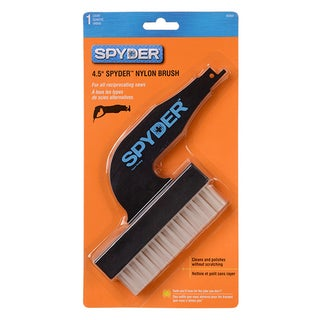 "Spyder 400004 4.5"" Nylon Brush For Reciprocating Saw"