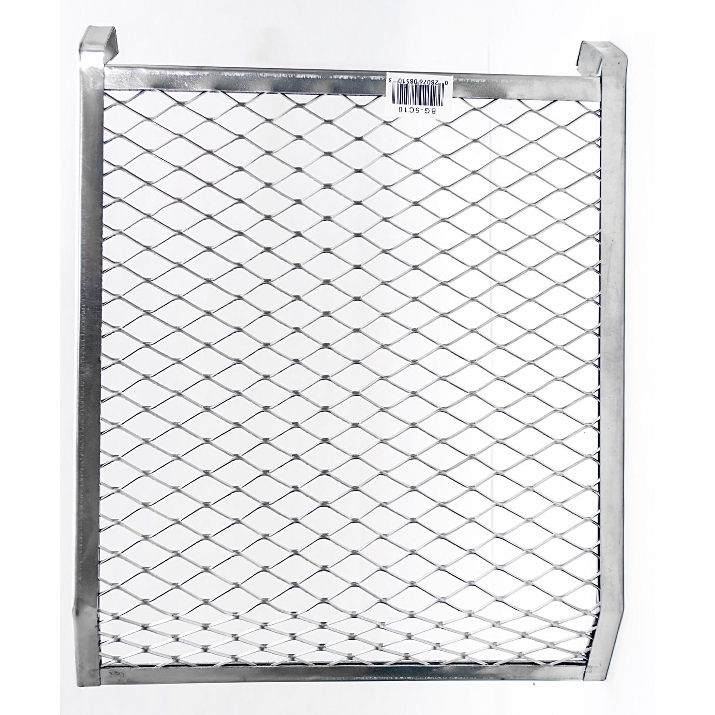 Quali Tech Manufacturing BG-5C10 5 Gallon Metal (Grey) 4-...