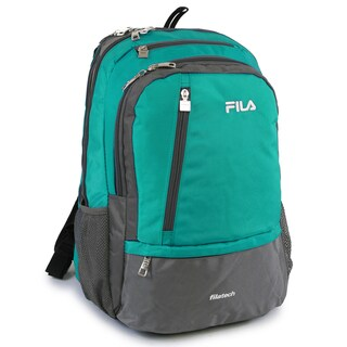 Fila Duel Tablet Laptop Backpack with 6 Pockets (Option: Blue)