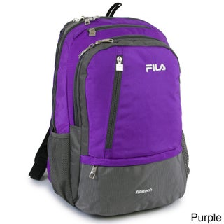 Fila Duel Tablet Laptop Backpack with 6 Pockets