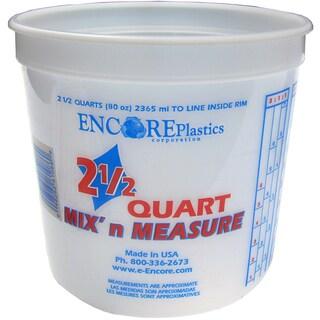 Encore LS61086 2.5 Quart Mix' N Measure Container