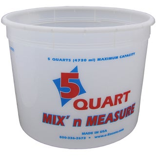 Encore LS809160 5 Quart Mix N' Measure Container