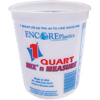Encore LT41032 1 Quart Mix' N Measure Container