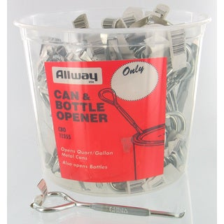 Allway Tools CBO100 Can & Bottle Opener 100-count