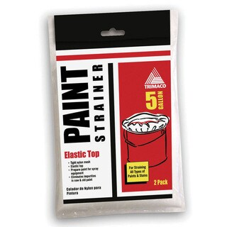 Trimaco 11523 5 Gallon SuperTuff Elastic Top Paint Strainer