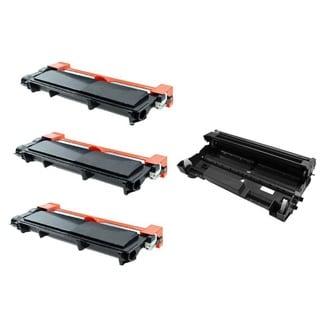3 x Toner + 1 x Imaging Drum Unit for Dell E310DW E515DN E515DW E514DW Series Printers