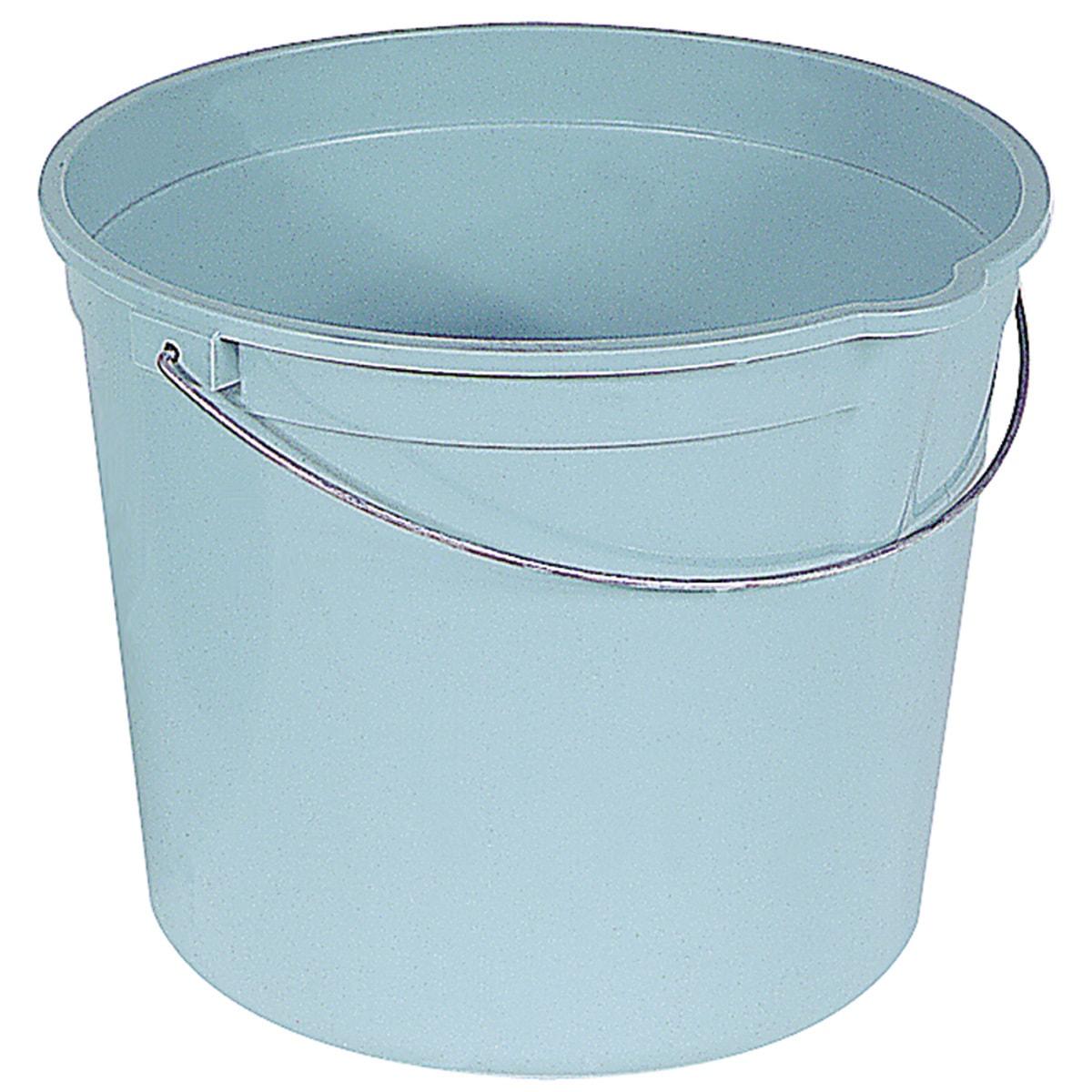 ENCORE 06192-200904 6 Quart Plastic Pail With Handle & Po...