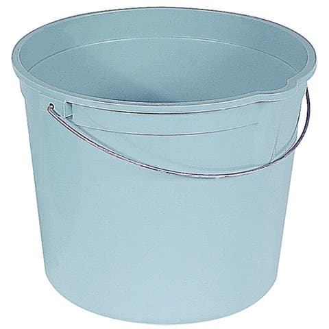 Encore 06192-200904 6 Quart Plastic Pail With Handle & Pour Spout
