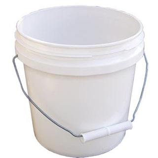 Encore 10128-201859 1 Gallon White Industrial Pail