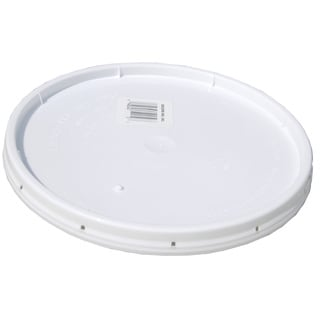 Encore 20000-201508 2 Gallon White Tear-Strip Pail Lid