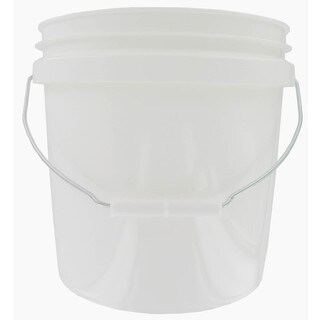 Encore 20256-201213 2 Gallon White Plastic Pail With Handle