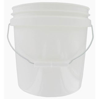 Encore 20256-201213 2 Gallon White Plastic Pail With Handle