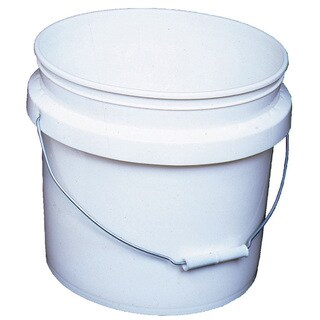 Encore 30448SE 3.5 Gallon White Industrial Pail