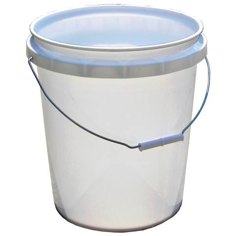 Encore 50640-250001 5 Gallon White Plastic Pail