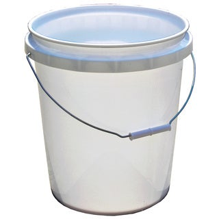 Encore 50640-250001 5 Gallon White Plastic Pail