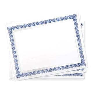15-count Blue and Silver Foil Certificates