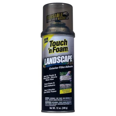 Touch n Foam 4001141212 12 Oz Black Touch 'N Foam Exterior Filler Adhesive