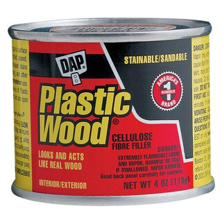 Dap 21434 1/4 LB Walnut Wood Dough Filler