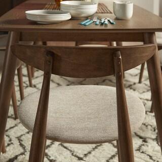 MID-CENTURY LIVING Norwegian Danish Tapered Side Chairs (Set of 2)